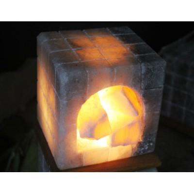 Şömine Model Tuz lamba (Tek Parçadır)